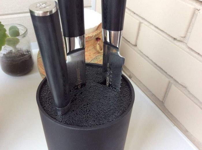 подставка для ножей оформление