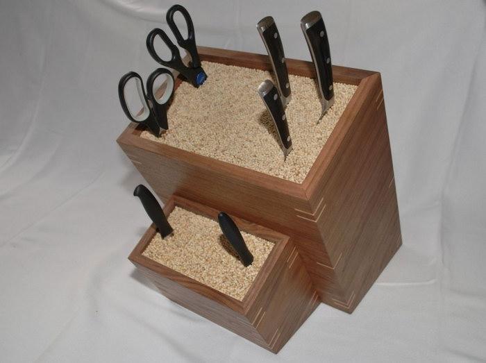 подставка для ножей фото варианты