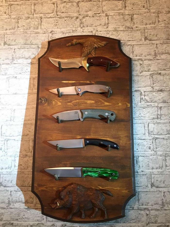 подставка для ножей варианты идеи