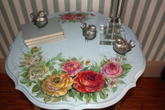 Примеры декупажа мебели в стиле прованс
