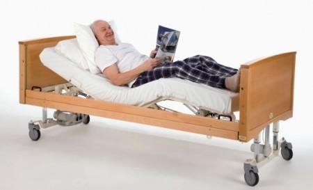 Привод кровати бывает механическим и электрическим