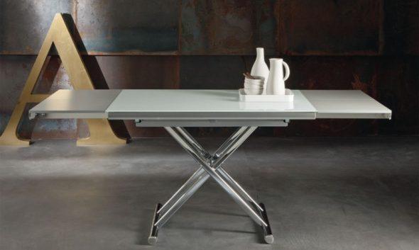 Раскладной стол на метталической основе