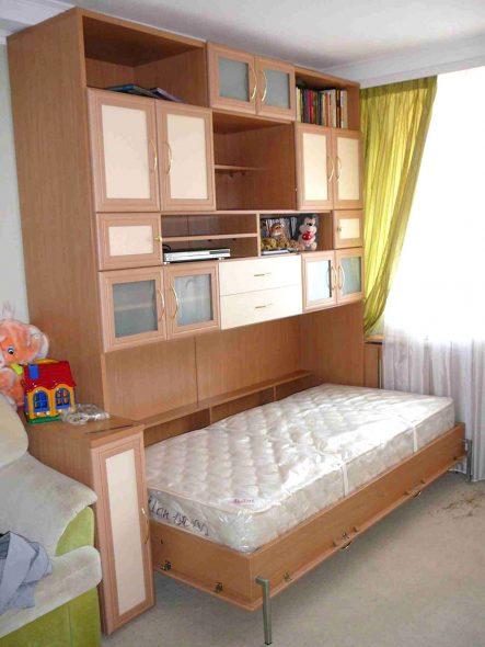 Шкафы кровати