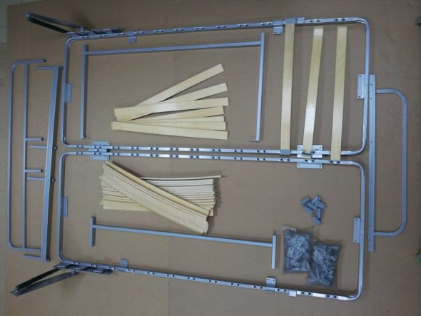 Система трансформации шкаф-кровать