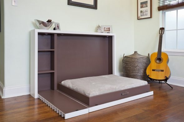 складная кровать к стене