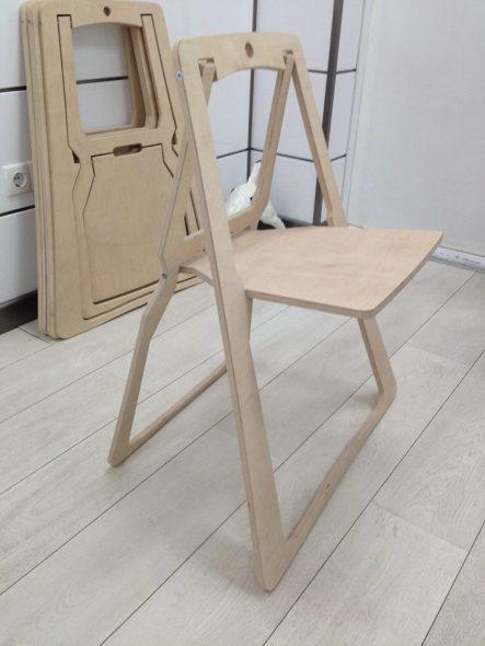 Складной стул для дома