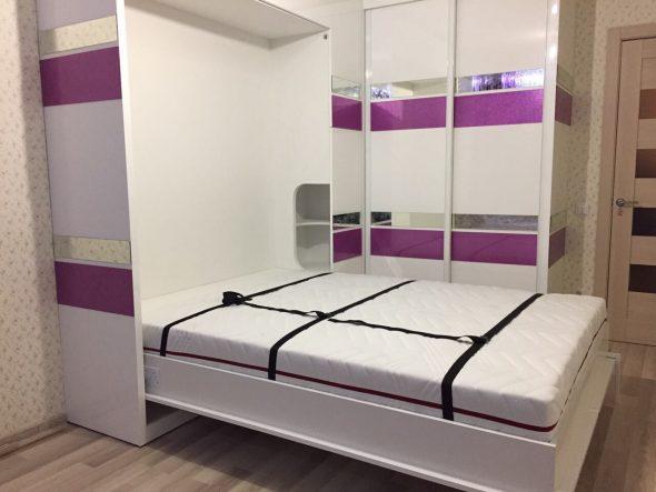 Спальное место откидной кровати