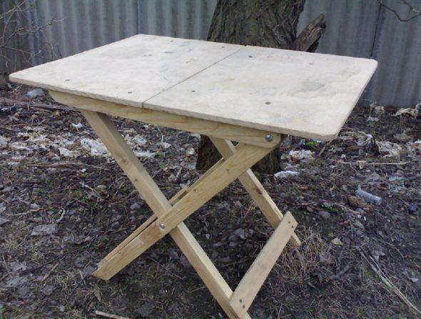 Стол складной для пикника своими руками