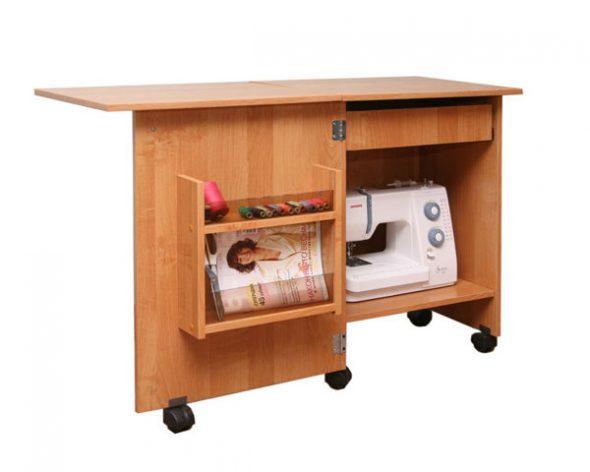 Стол тумба для швейной машины своими руками фото