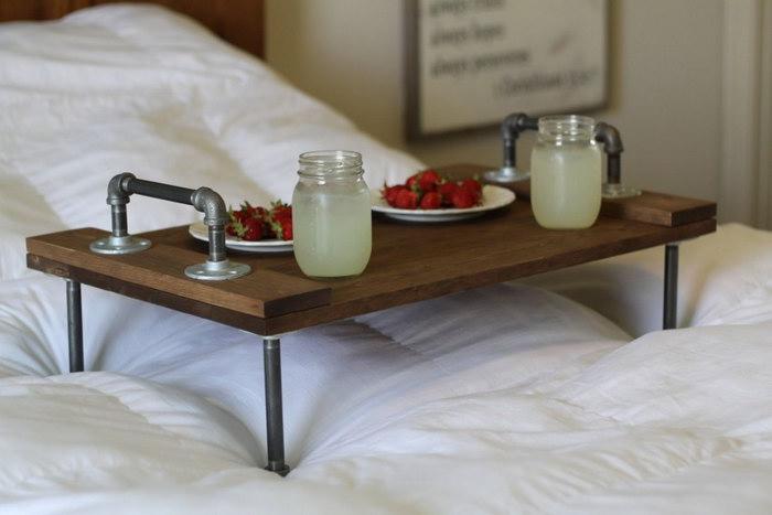 столик для завтрака фото идеи