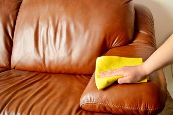 Технология очистки кожаной мягкой мебели