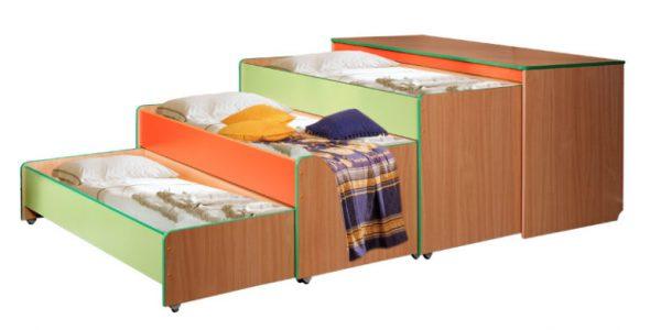 трехъярусная тумба кровать