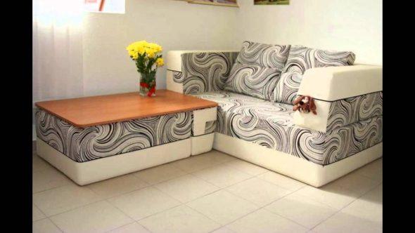 Угловые диваны для малогабаритных квартир