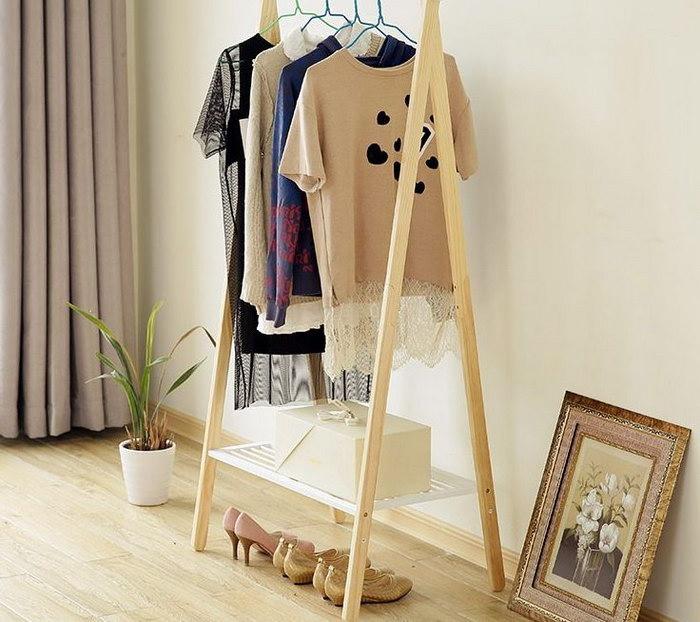 вешалка для одежды декор