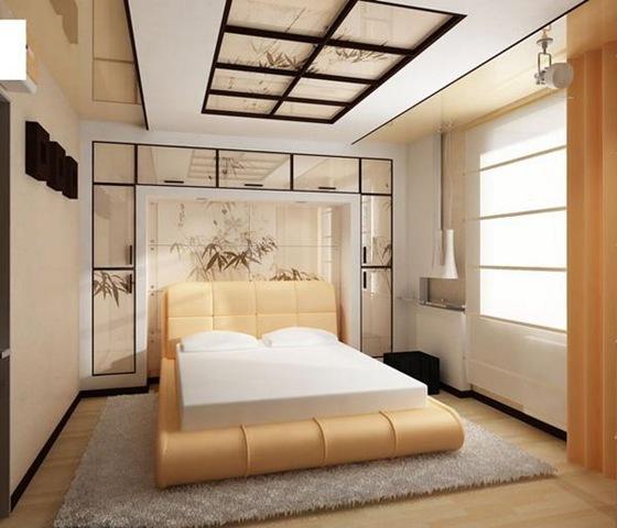 Восточный интерьер спальни