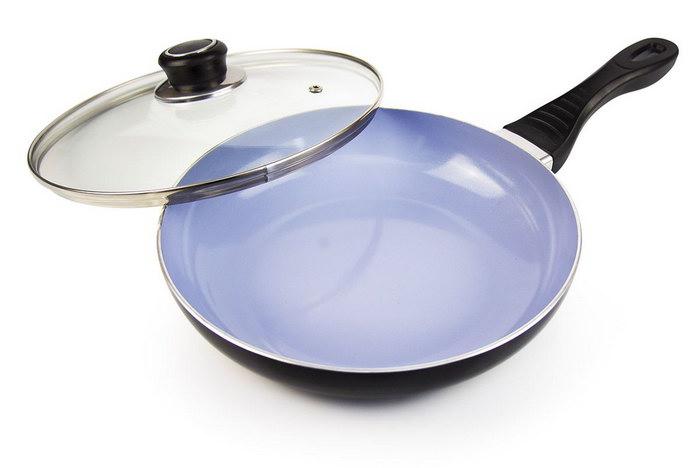 антипригарная сковорода керамика фото