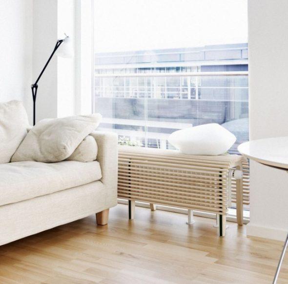 батарея и мебель