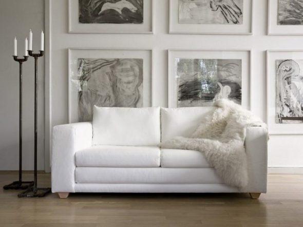 белый диван еврокнижка раскладной