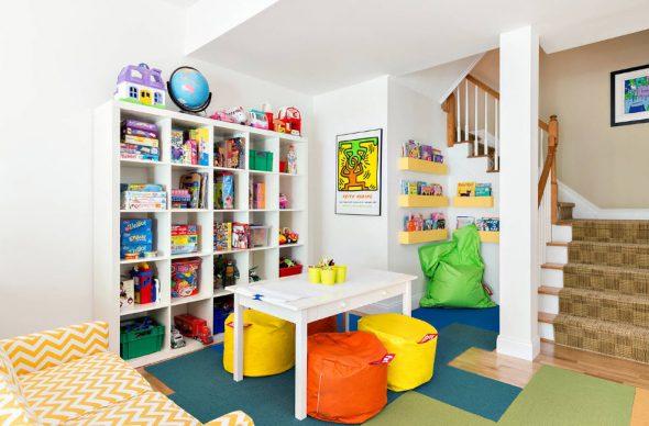 бескаркасная мебель в детской