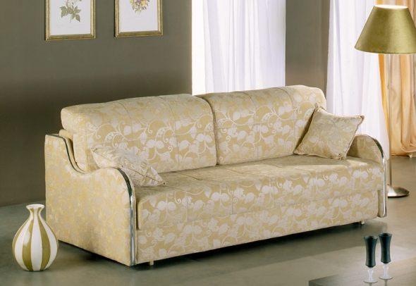 бежевый диван еврокнижка раскладной