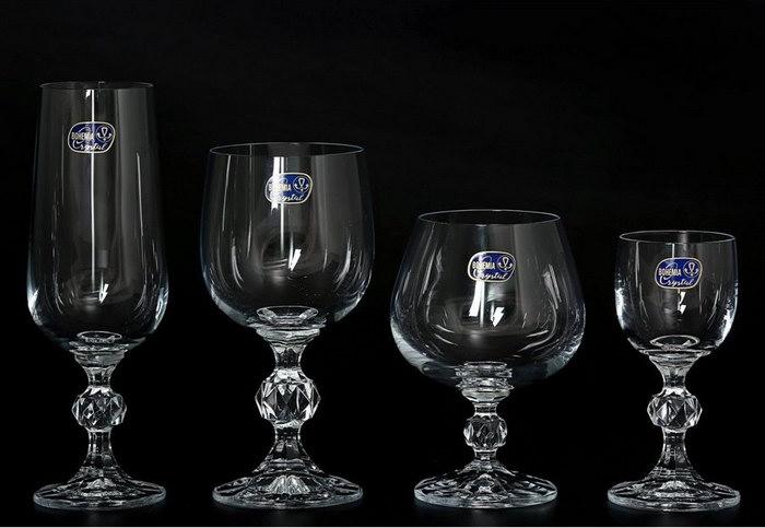 бокалы из хрусталя Crystalex