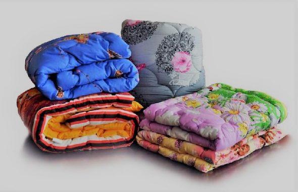 Большое ватное одеяло
