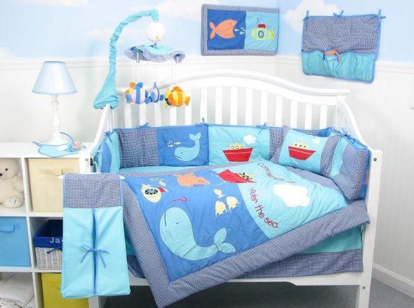 бортики в кроватку для ребенка