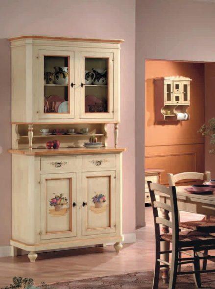 буфет в интерьере кухни