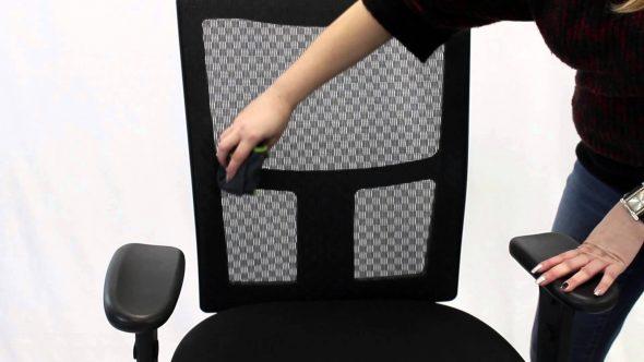 чистка офисного кресла