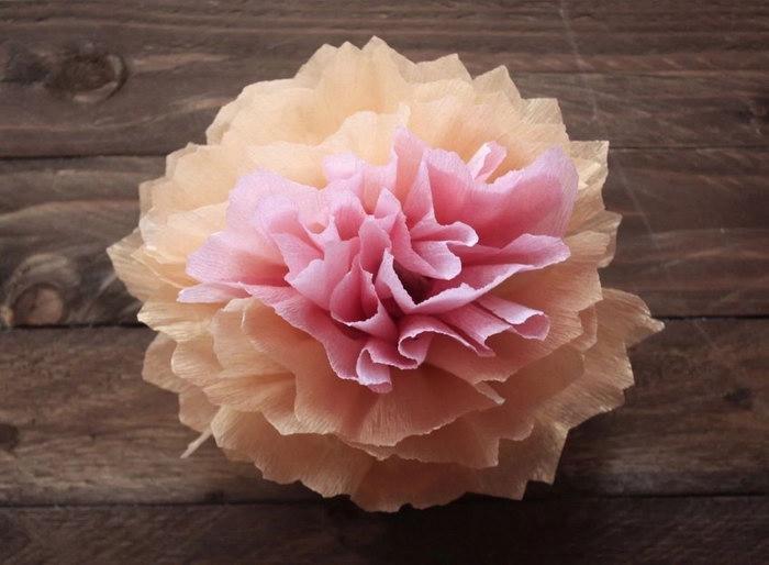 цветы из бумажных салфеток своими руками дизайн фото