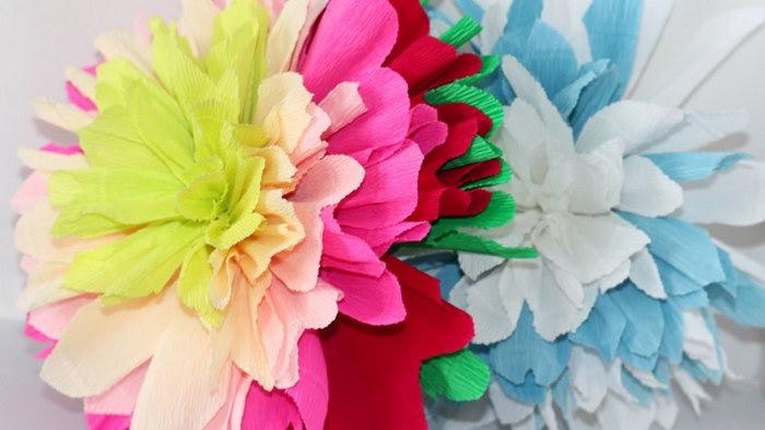 цветы из бумажных салфеток своими руками фото дизайн