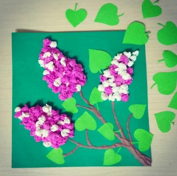 цветы из бумажных салфеток варианты идеи