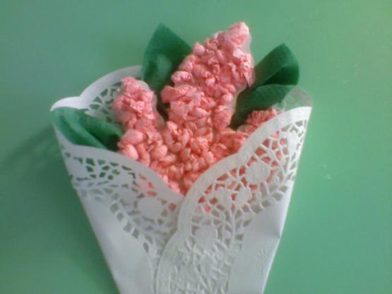 цветы из бумажных салфеток варианты фото