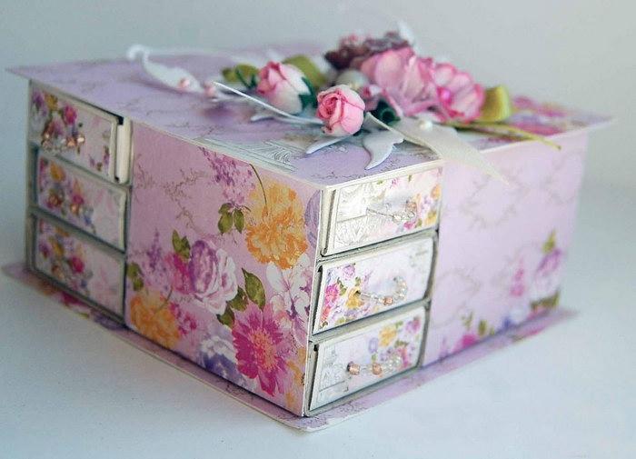 декор коробки для детской