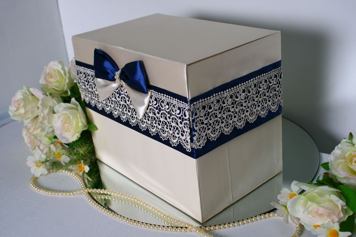 декор коробки красивый