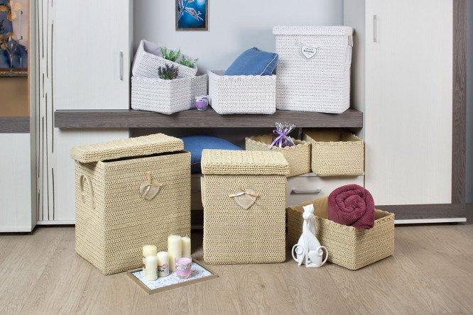 декор коробки в спальню