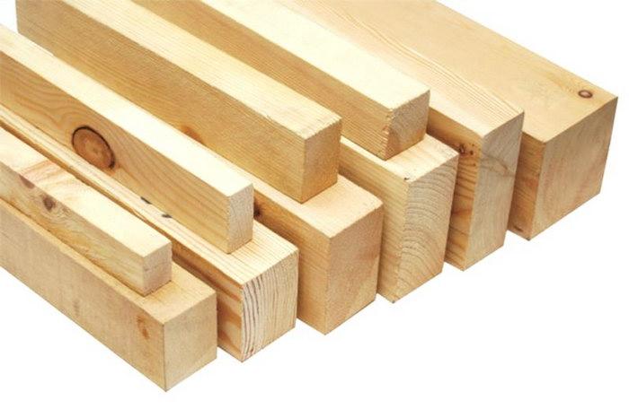 деревянные брусья