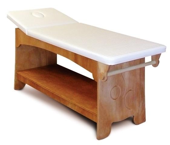 Деревянная кушетка для СПА-салона
