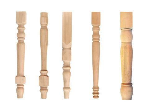 Резные ножки из дерева