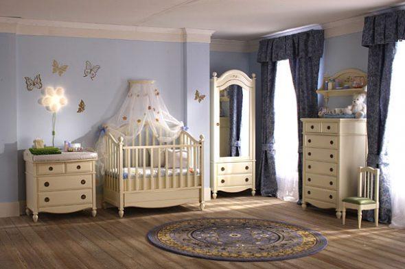 детская комната из массива дерева