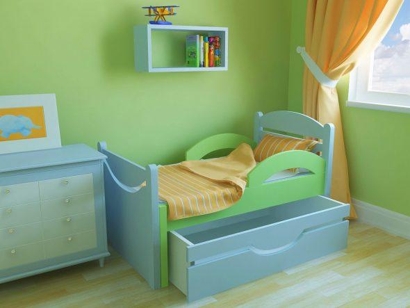 детская кровать фото идеи
