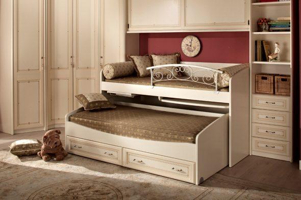 дизайн детской кровати