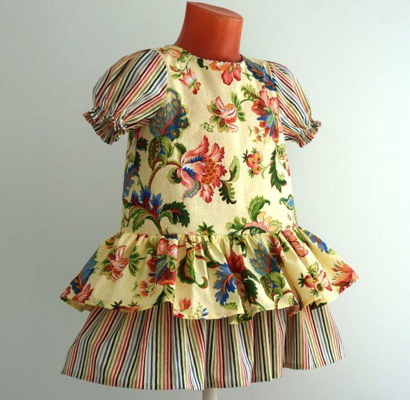 Детское платье перкаль