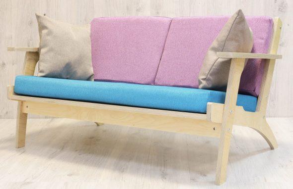 диван из фанеры