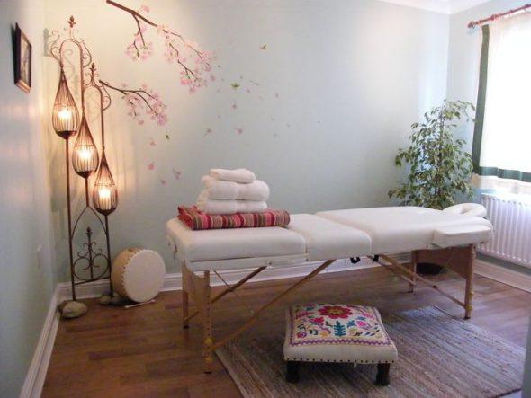 Дизайн комнаты для массажа