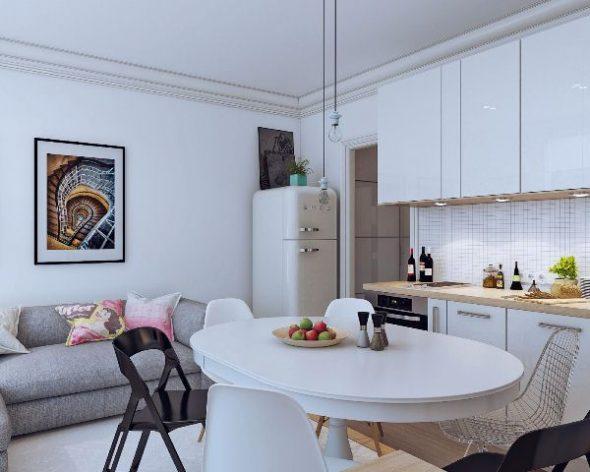 дизайн кухни 10 кв м