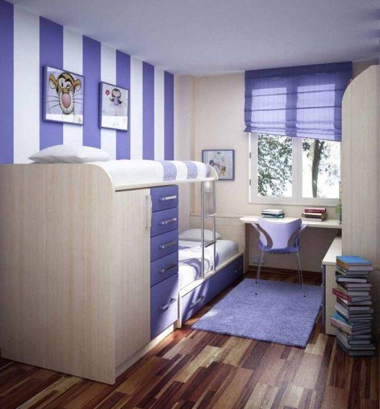 дизайн маленькой комнаты для мальчиков