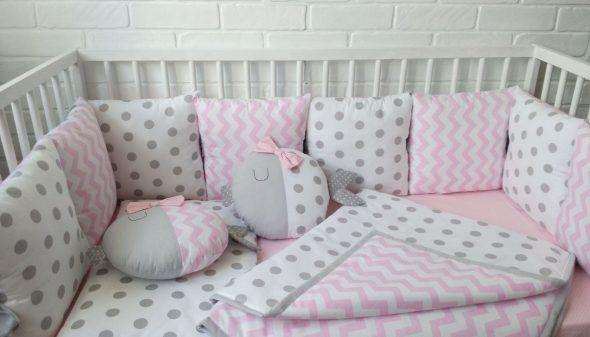 бортики подушки