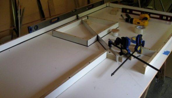 Для изготовления столешницы из бетона