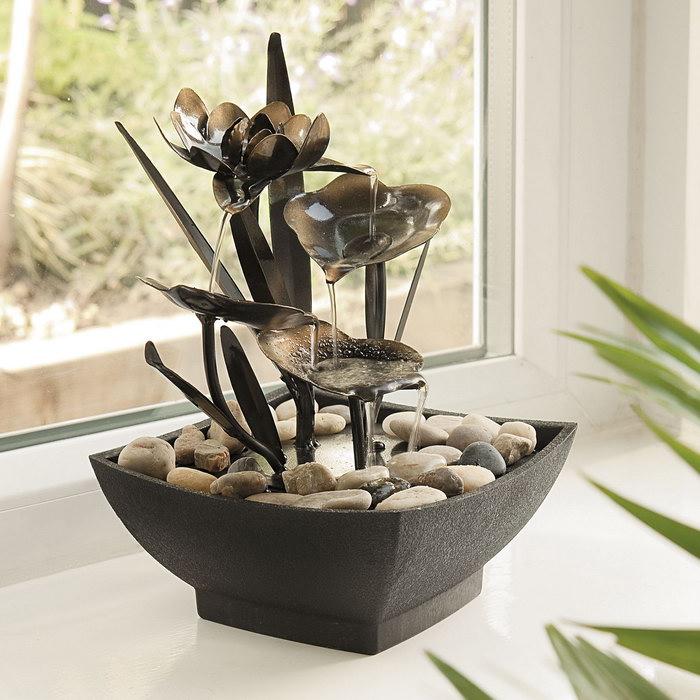 домашний фонтан декор идеи
